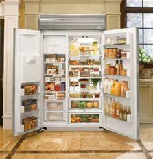 monogram zispdhss   built  side  side refrigerator   cuft capacity
