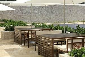 Modern Outdoor Restaurant Seating