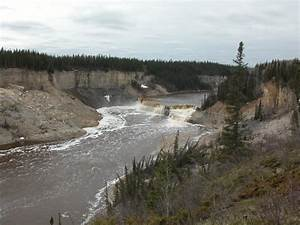 Northwest Territories  Louise Falls On Hay River