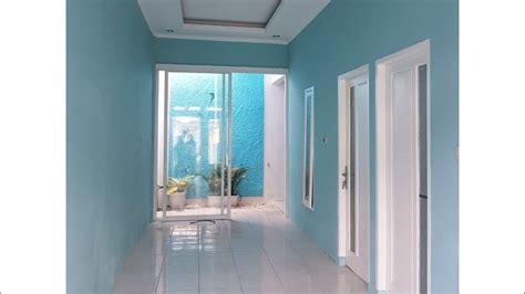 rumah minimalis blue house desain rumah minimalis