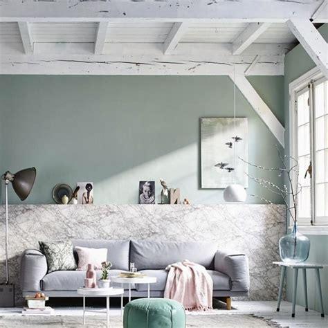 decoration salon blanc  gris