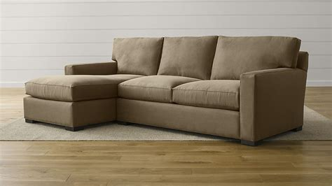 crate and barrel axis sofa axis ii 2 sectional sofa douglas coffee crate and