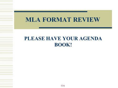 modern language association mla general academic paper