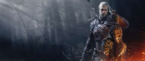 witcher  wild hunt ultrawide  wallpapers
