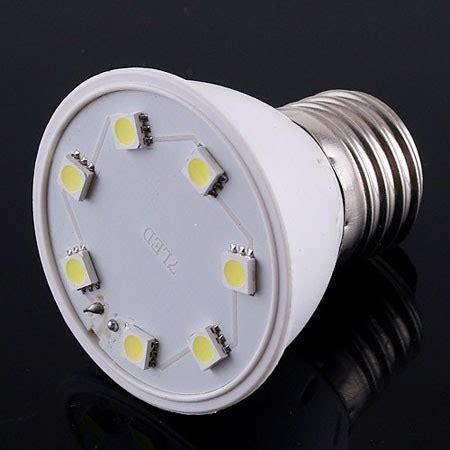 cheap and new e27 7 led smd white light bulb l 110v