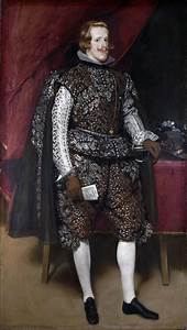 Philip IV of Spain in Brown and Silver - Diego Velazquez ...
