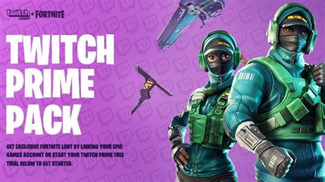 Fortnite Twitch Prime Pack 3...
