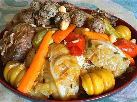 cuisine cannelle recette du couscous aux boulettes juif tunisien harissa