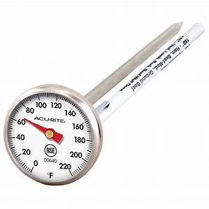 Acurite Stainless Steel Instant Read Thermometer