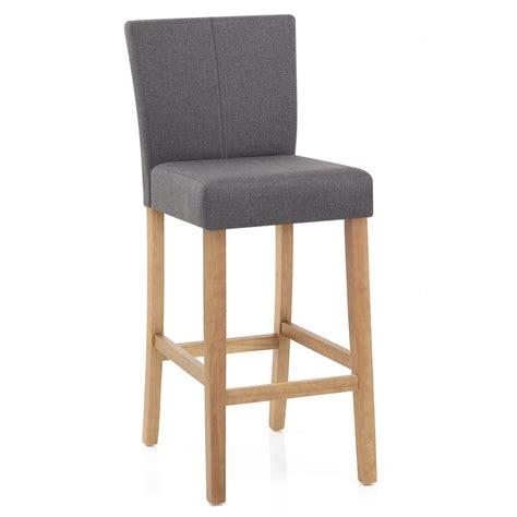 chaise bar bois chaise de bar bois et tissu cornell monde du tabouret