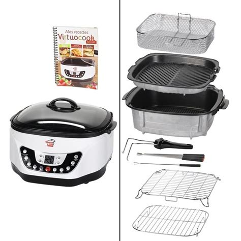 m6 boutique cuisine virtuocook deluxe multicuiseur 9 fonctions m6 boutique