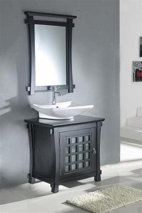 30 inch bathroom sink 30 inch modern vessel sink bathroom vanity in dark walnut