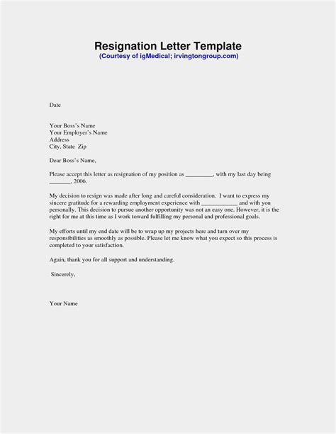 Free Download Example Letter for Leaving A Job Valid Lovely Writing A Great Resume Free