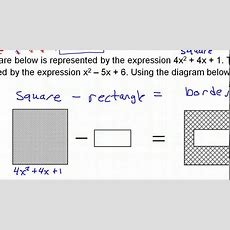 Day 9 Hw #5 To #9 Polynomial Applications Word Problems Youtube