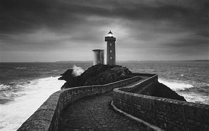 Lighthouse Wallpapers Background Desktop Stone Pc Path