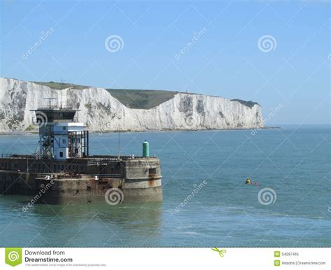 Entering The Port Of Dover, England Editorial Image ...