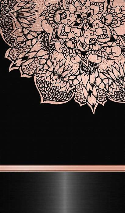 Rose Gold Iphone Wallpapers Marble Flower Background