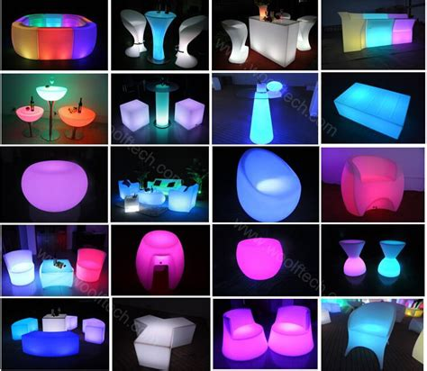 Led Garden Light by Color Changing Led Table Light Up Furniture Outdoor