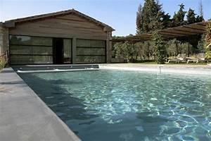 Béton Ciré Extérieur Leroy Merlin : terrasse piscine beton colore ~ Melissatoandfro.com Idées de Décoration