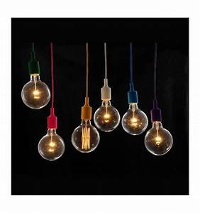 Suspension Noire Design : suspension design e27 lili noire ~ Teatrodelosmanantiales.com Idées de Décoration