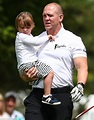 Mike Tindall plays a round with his gorgeous daughter Mia ...