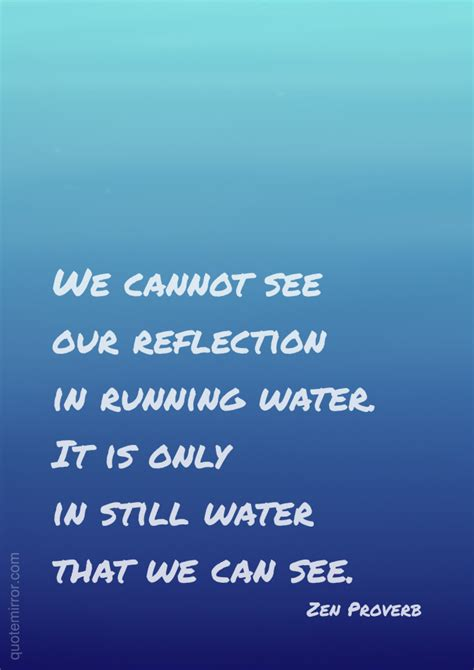 water reflection quotes quotesgram