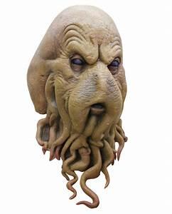 Davy Jones Kostüm : cephaloid meer monster maske davy jones maske horror ~ Frokenaadalensverden.com Haus und Dekorationen