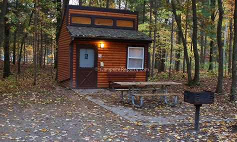 michigan state parks with cabins photo of sleeper state park michigan mini cabin in