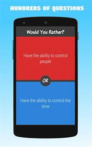 Amazoncom Would You Rather Appstore For Android