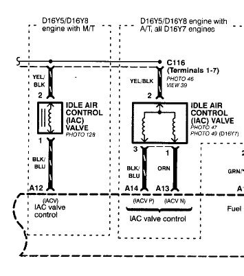 iacv harness   wire motor   hondacivicforumcom
