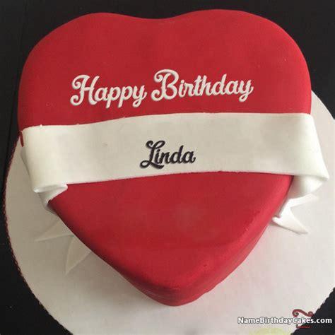 happy birthday linda cakes cards wishes