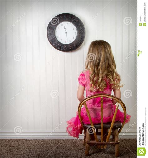 child  time    trouble stock image image