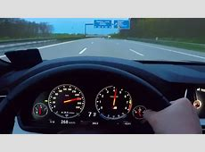 BMW M5 Onboard Acceleration Autobahn Top Speed V8 Sound