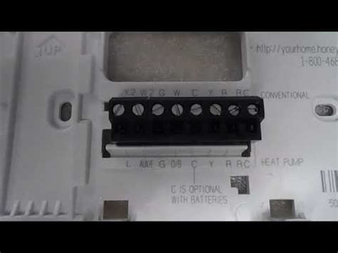 Warm Tiles Thermostat Troubleshooting by Honeywell Thermostat Wiring Wire Programmable