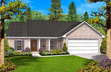 split bedroom ranch house plan hz st floor master suite cad  country