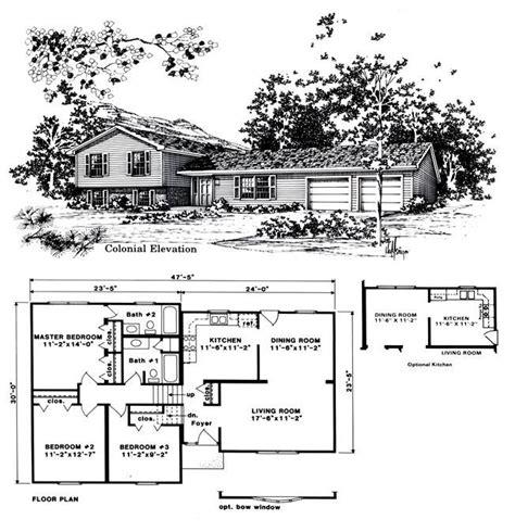 Beautiful Tri Level House Plans 8 1970s Tri Level Home Plans New House Plans