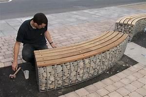 Seat Muret : gabion seating google search gabion structures pinterest jardins sout nement et ext rieur ~ Gottalentnigeria.com Avis de Voitures