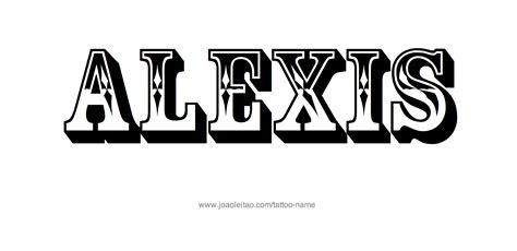 alexis  tattoo designs