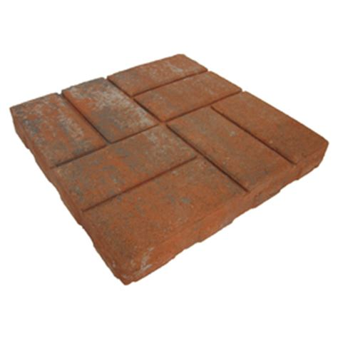 shop brickface concrete patio common 16 in x