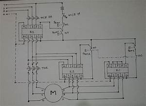Control Diagram For Star Delta Motor Starter