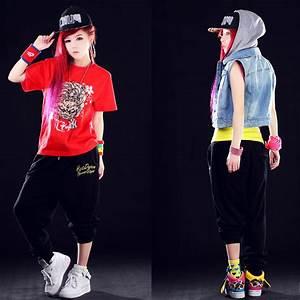 Popular Girls Hip Hop Dance Wear | Aliexpress