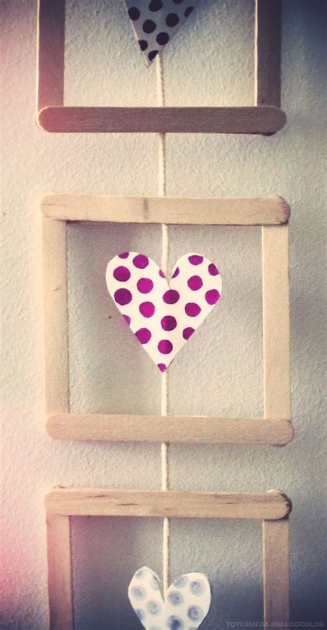 home interior wall hangings 25 pretty diy popsicle stick for home decor home design