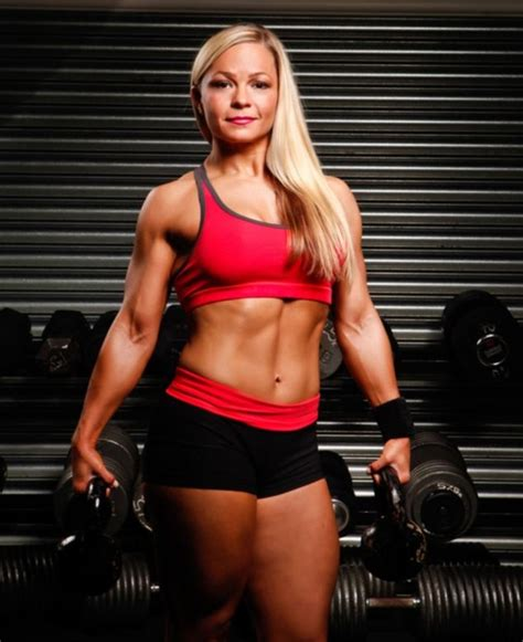 female bodybuilder anita albrecht told shes obese  nhs