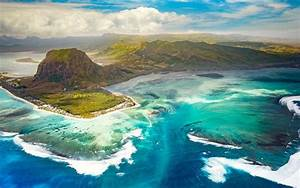 Underwater, Waterfall, In, Le, Morne, Brabant, Mauritius, Known