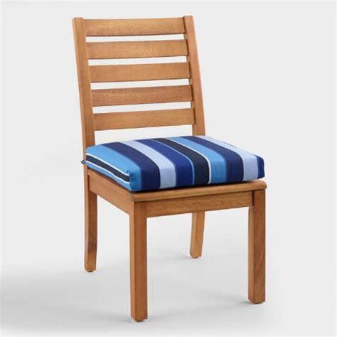 sunbrella cobalt blue outdoor chair cushion world