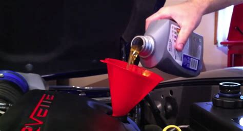 Corvette How To Drain/fill Engine Oil And Replace Oil