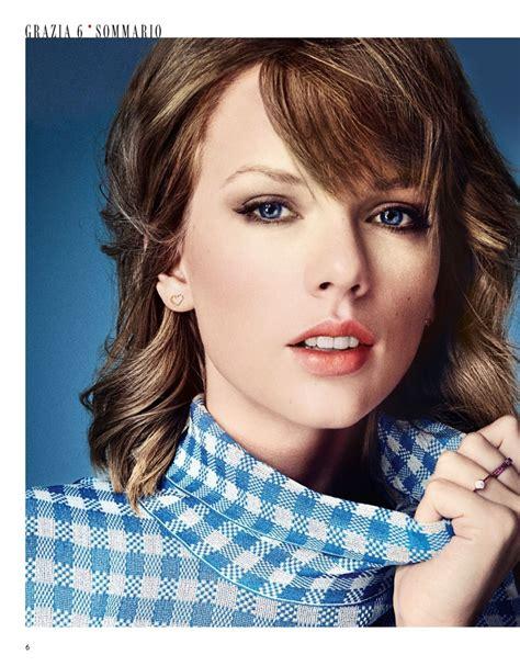 Taylor Swift - Grazia Magazine (Italy) February 2015 Issue ...
