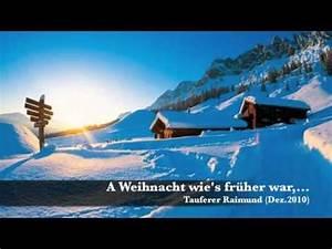 Frottee Bettwäsche Wie Früher : a weihnacht wie 39 s fr her war youtube ~ Yasmunasinghe.com Haus und Dekorationen