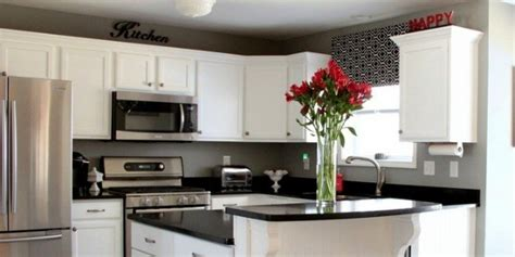 black  white kitchen remodel  painted cabinets
