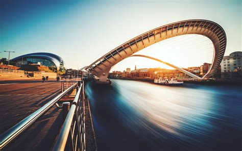 Gateshead Millennium Bridge Uk Wallpapers  Hd Wallpapers
